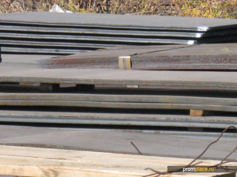 Сталь 40Х (листы от 8 до 120 мм)