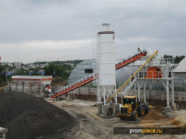 Стационарный бетонный завод Semix-60 Centurion