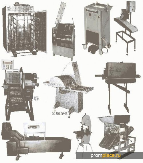 Продаю оборудование для переработки рыбы, мяса, птицы и упаковки