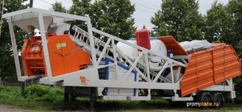 Рамный бетонный завод Semix-60 Capitan