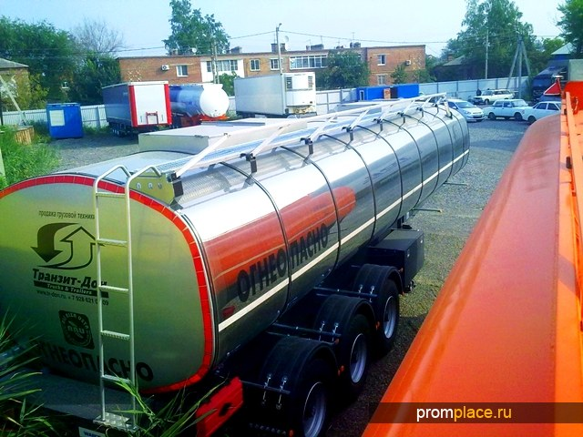 Полуприцеп битумовоз нефтевоз Bonum - ARU 30m3