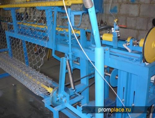 станок АСУ174 для плетения сетки рабицы