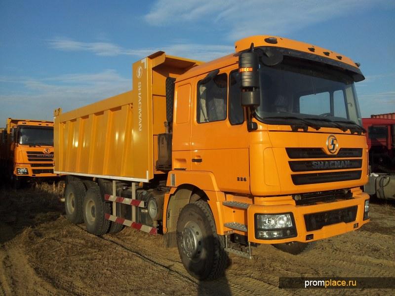 Самосвал SHAANXI 6х4 SX3256DR384, кабина F3000
