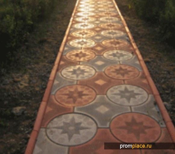 Тротуарная плитка крупный опт
