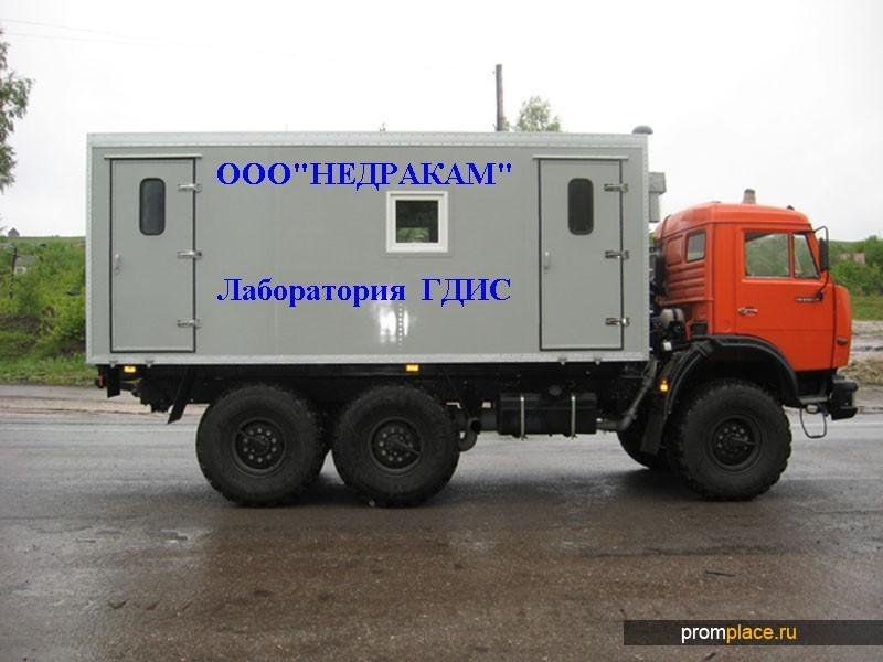 Подъемник исследования нефтегазовых скважин на шасси Камаз