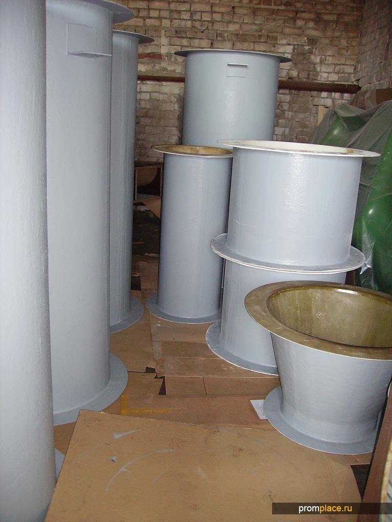 Воздуховоды, вент. системы из стеклопластика