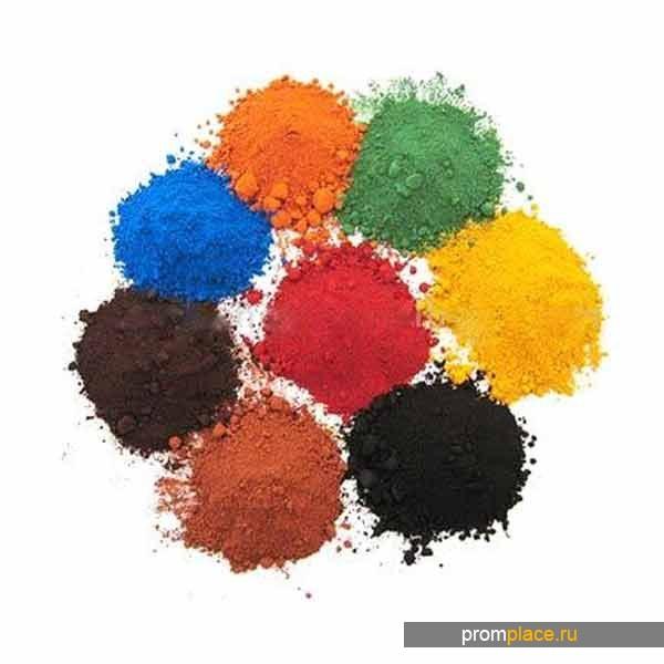 Пигмент - для окраски бетона, цемента, гипса и пластикрита, фасовки от 1 кг