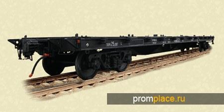 Платформа для перевозки крупнотоннажных контейнеров  Модель: 13-935А (13-935А-01, 13-935А-03, 13-935А-04)