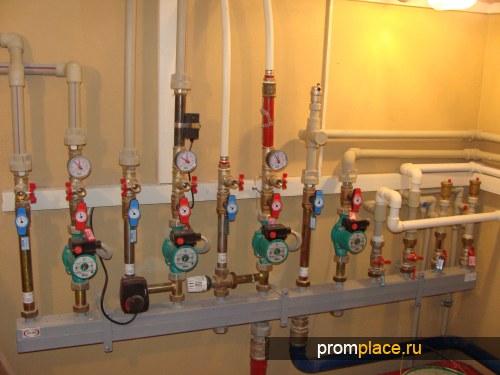 Отопление домов, коттеджей,  квартир в г. Иваново