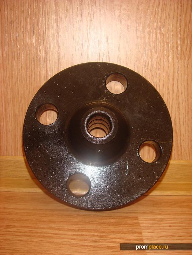 Воротниковыестальные фланцы Ру 63 кг/см3 с покрытием хим. окс. (консервация)