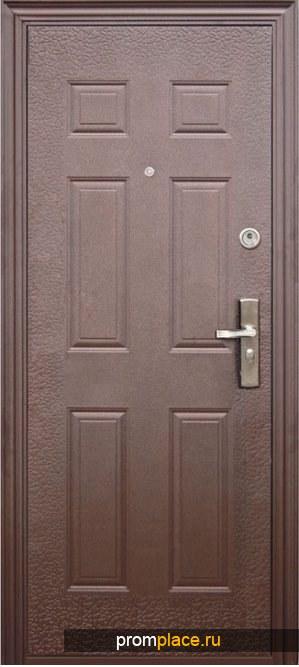 Дверь входная утепленная оптом модель Т6628