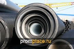 Двухслойные ПЭ трубы КОРСИС для безнапорной канализации