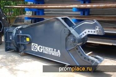 Гидроножницы навесные Gusella на экскаваторы/погрузчики
