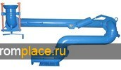 Устройства  нижнего слива нефти и нефтепродуктов из железнодорожных цистерн УСН-150