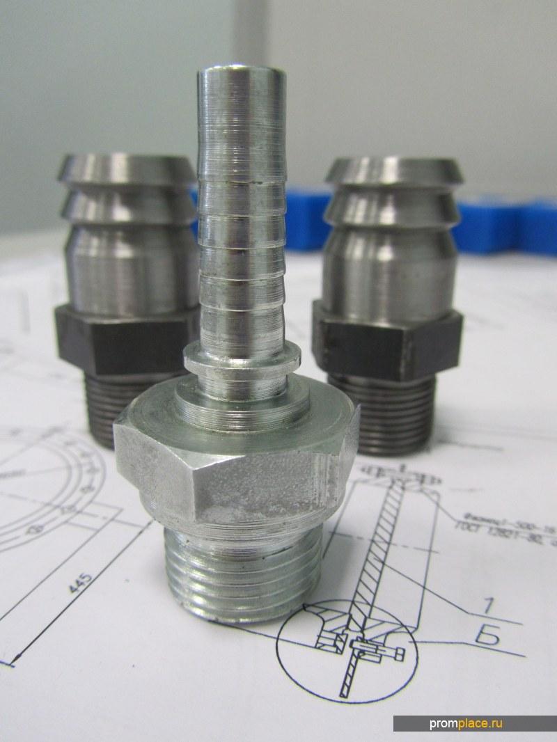 Металлообработка: токарные и фрезерные работы