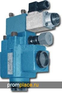 Гидроклапан предохранительный МКПВ-10/3М.Р1(2,3) (модульный монтаж)  Гидроклапан предохранительный МКПВ-10/3МВ2 (модульный монтаж)