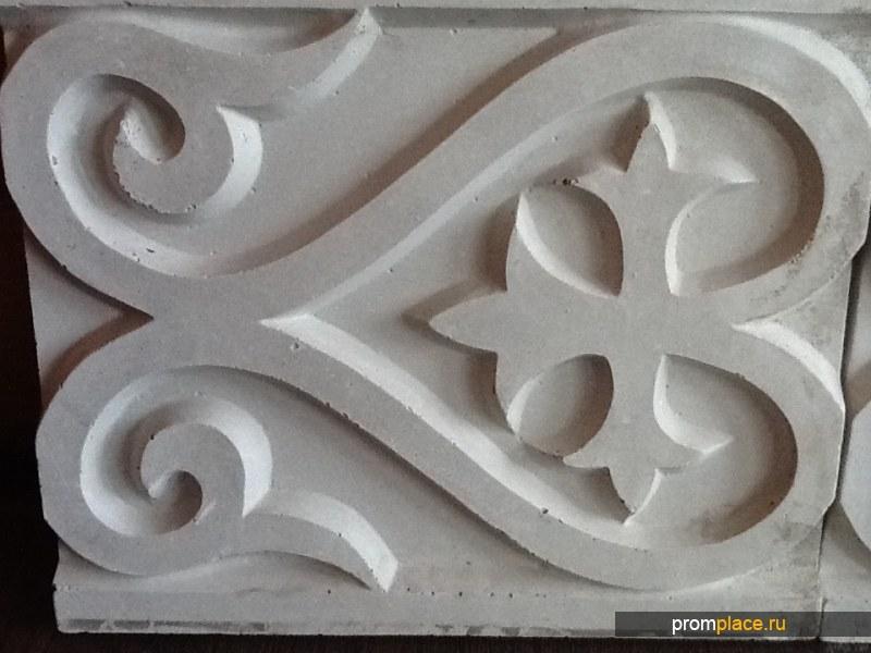 Казахский орнамент (для стен зданий)