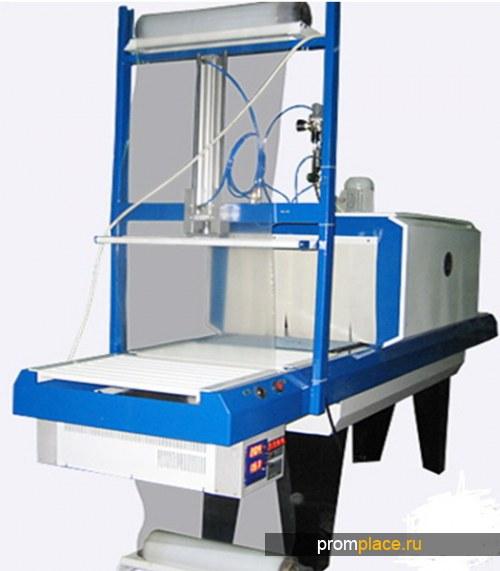 Оборудование для групповой упаковки в термоусадочную пленку коробов, бутылок, банок АП ТПЦ-550