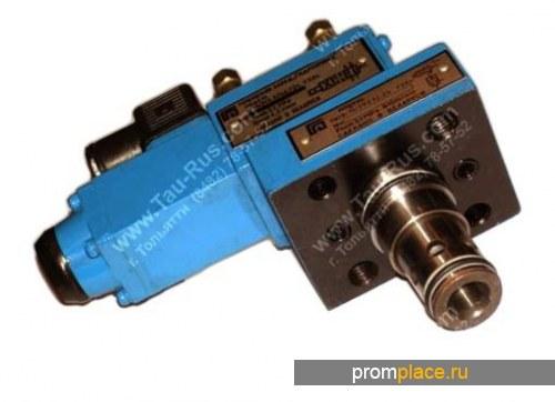 Гидроуправляемый клапан МКГВ-16/3ФЦ2Э3.24  Гидроуправляемый клапан МКГВ-16/3ФЦ2Э2.110