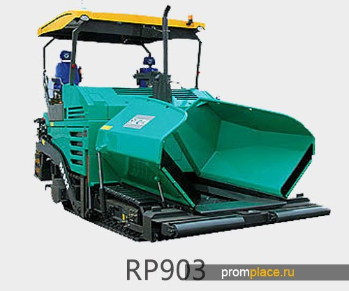 Гусеничный асфальтоукладчик XCMG RP903
