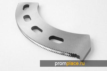Просечные, сегментные зубчатые ножи