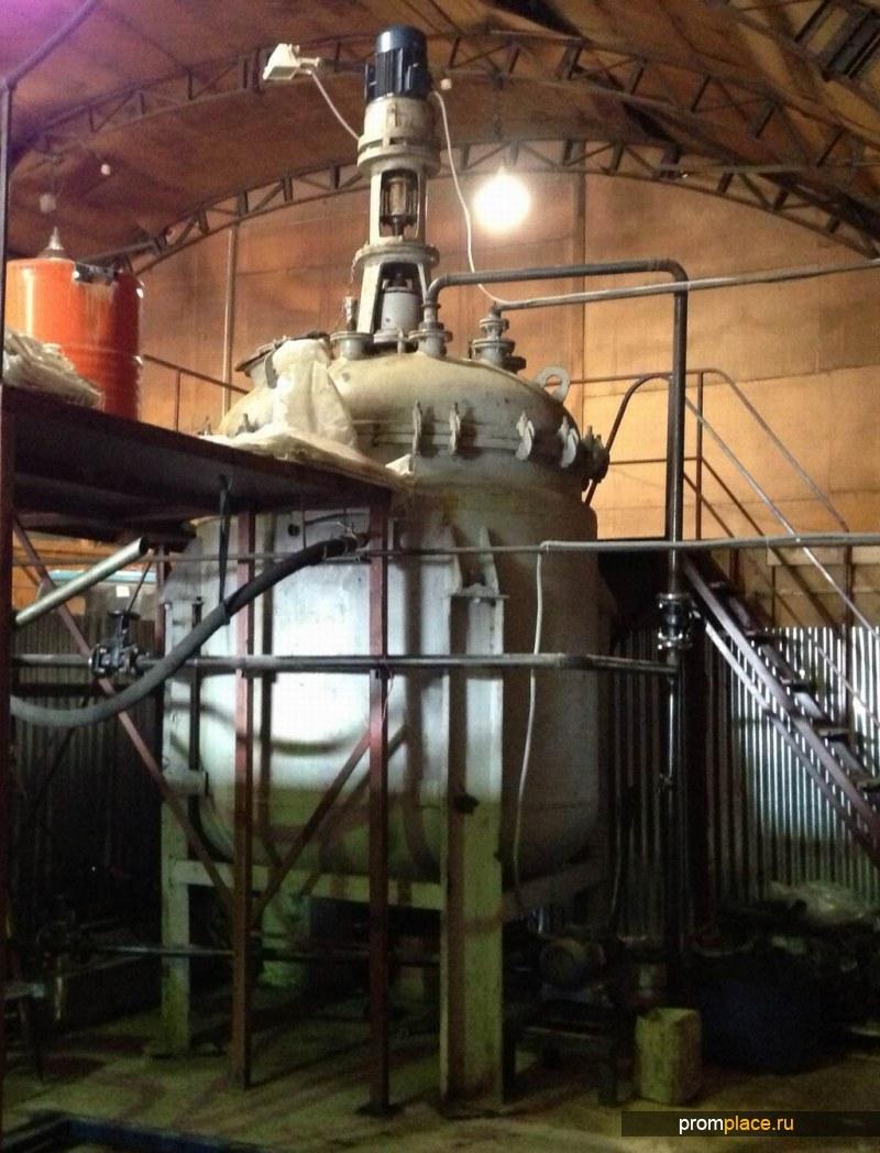 Продам Реактор эмалированный 5 куб.м.,