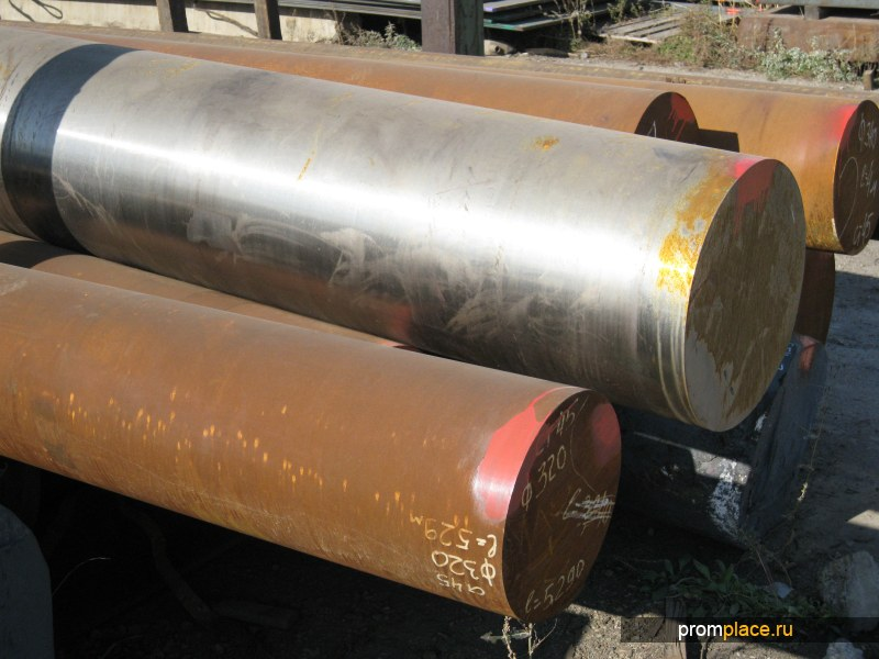 Сталь 40Х (поковки и круги d300-620 мм)