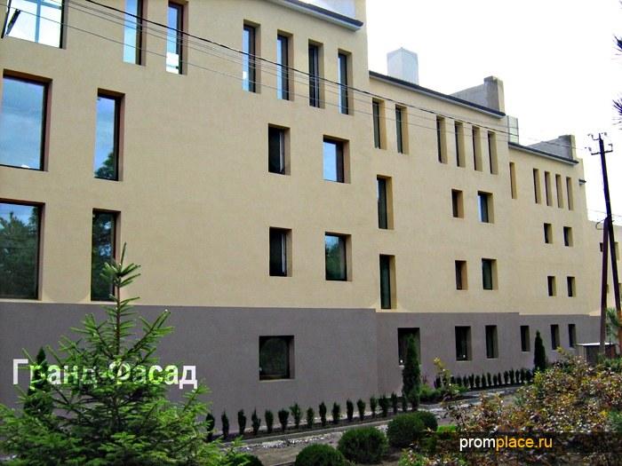 Отделка, оштукатуривание и облицовка фасада здания