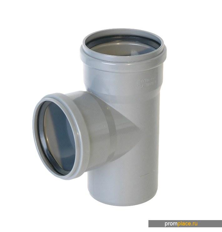 Тройник 90 ПВХ для канализации