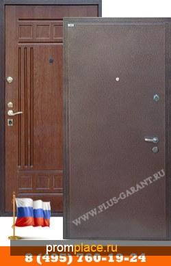 Железные двери с отделкой Порошковое напыление-МДФ