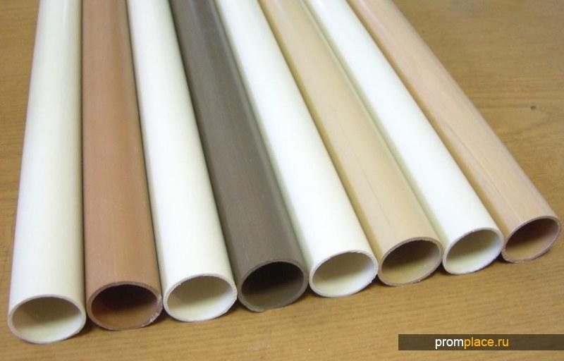 Трубы ПВХ, ПНД, ПВД жесткие электротехнические, а также труба ПВХ для монолитного строительства