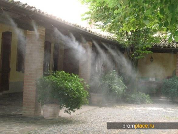 Системы туманообразования. Борьба с комарами