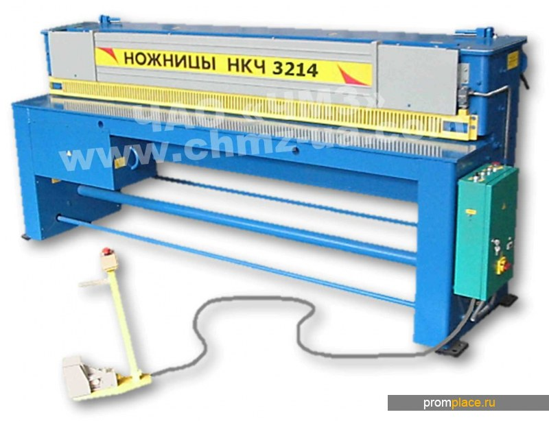 Ножницы гильотинные гильотина для металла НКЧ 3214 (2.5х2500)