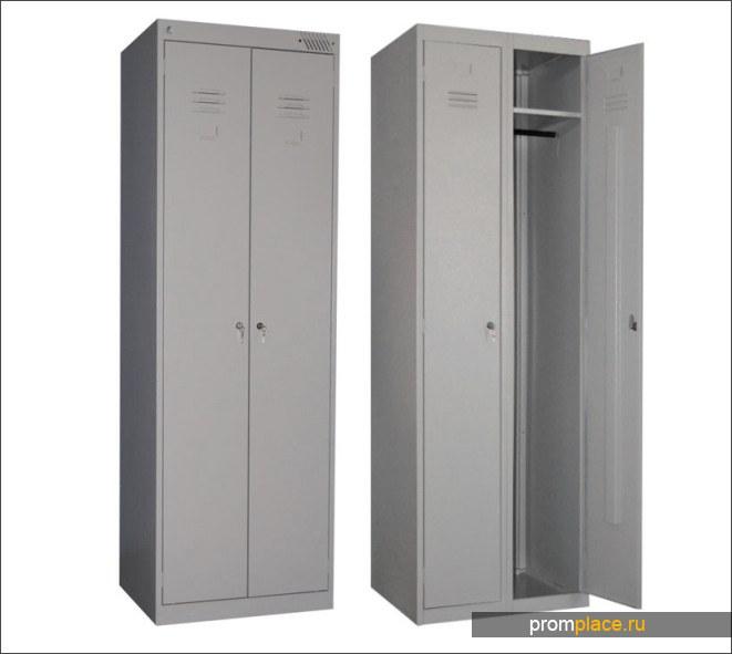 Шкаф металлический шрк 22-600 для одежды