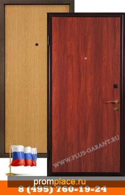 Стальные двери с отделкой Ламинат + Ламинат