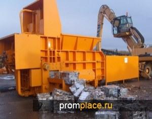 Пресс пакетировочный Leopard для лома, металлических отходов