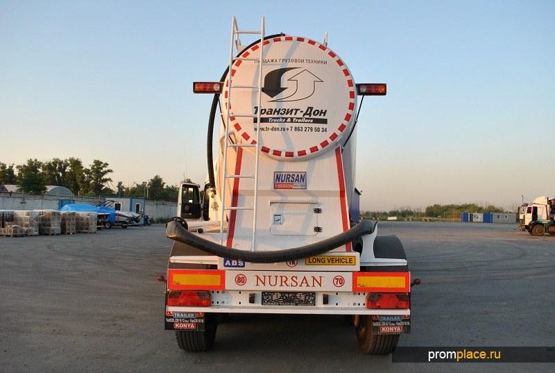 Полуприцеп-цементовоз Nursan 40 m3