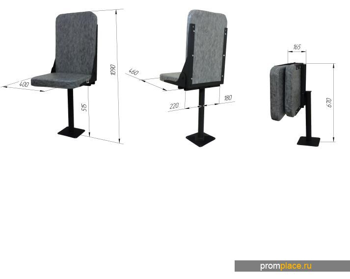 Кресло КР-1 для дорожно-строительной техники