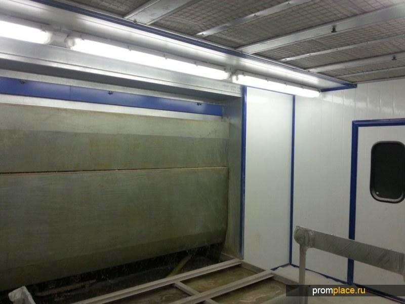 Чистая комната для покраски ОКЧ10х5м б/у в наличии.