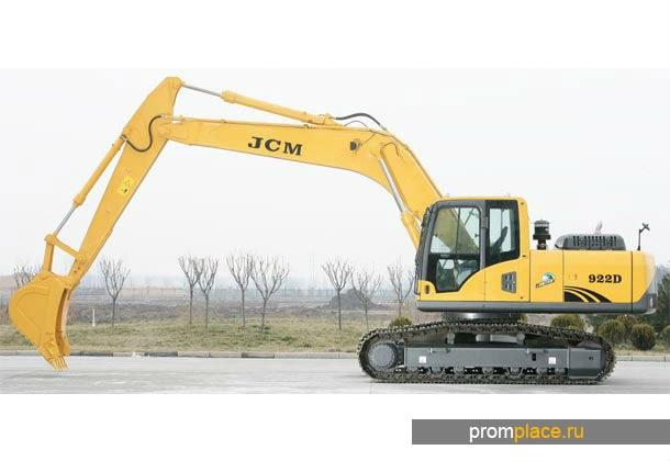 Гусеничный экскаватор JCM 922C