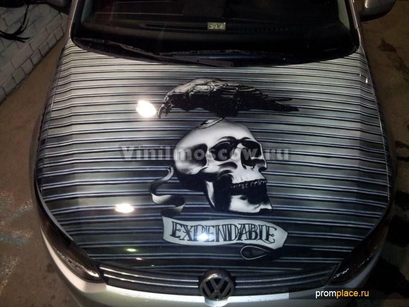 Оклейка машин винилом в Москва