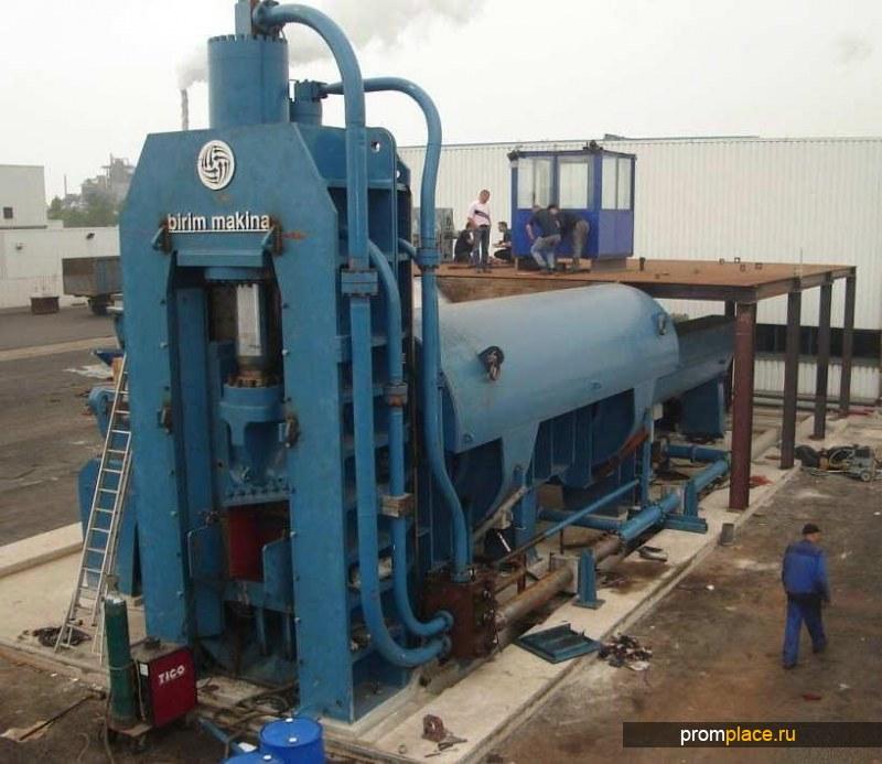 Пресс-ножницы стационарные для лома серии ORCA (ОРКА), 20-57 тонн/час