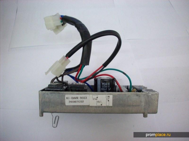 Автоматический регулятор напряжения AVR PLY-DAVR-95S (AVR KDE12EA), AVR PLY-DAVR-95S3 (AVR KDE12EA3) для дизельных и бензиновых генераторов и электростанций КИПОР Kipor в Москве и Екатеринбурге