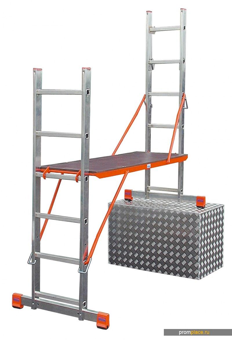 VarioTop Лестница-стремянка подмость. Рабочая высота: 4,05 m