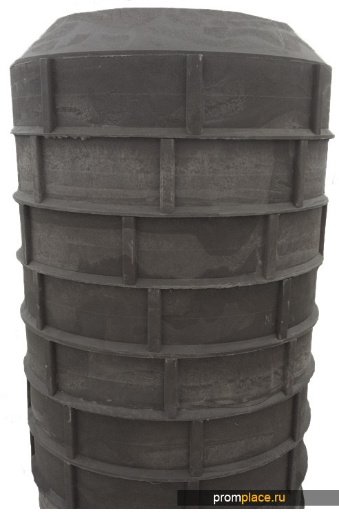 Полимерпесчаный колодец 2 метра.