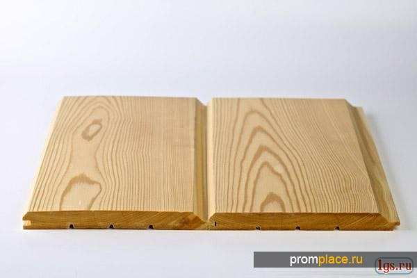 Имитация бруса листвениица