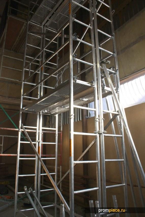 Вышки Тур Алюминиевые ВТА 900 для работ внутри внутри резервуаров, цистерн, емкостей