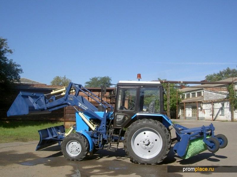 Коммунальная машина МУП-03 на базе трактора МТЗ 82.1