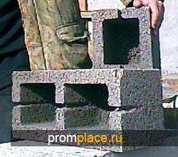 Блоки мелкоштучные из керамзитобетона (40х20х20)