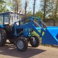 Коммунальная машина МУП-02 на базе трактора МТЗ 82.1